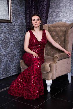 Платья Вечернее платье малинового цвета напрокат | Аренда и прокат – Санкт-Петербург