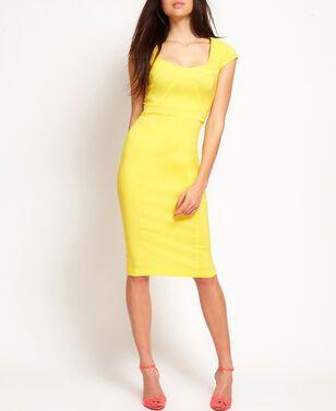 Платья Asos, Yellow Pencil dress   напрокат | Аренда и прокат – Москва
