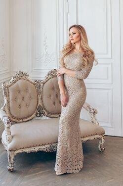 Платья Modern Gold Evening Dress напрокат | Аренда и прокат – Краснодар