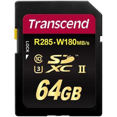 Носители данных и карты памяти Карта памяти SD Transcend 64GB UHS- напрокат | Аренда и прокат – Санкт-Петербург