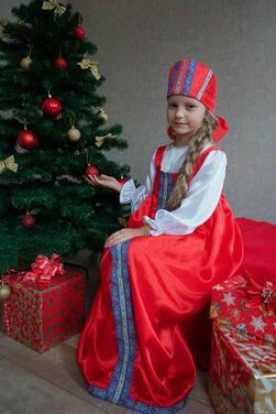 Национальные Сарафан народный длинный  напрокат | Аренда и прокат – Санкт-Петербург