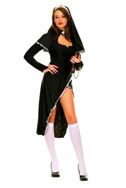 Ролевые костюмы Соблазнительная монашка напрокат | Аренда и прокат – Санкт-Петербург