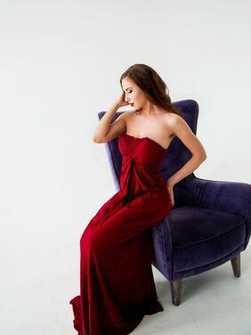 Платья Платье винного цвета (США) напрокат | Аренда и прокат – Санкт-Петербург