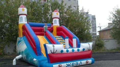 "Детские праздники Батут ""Скала""  напрокат | Аренда и прокат – Екатеринбург"