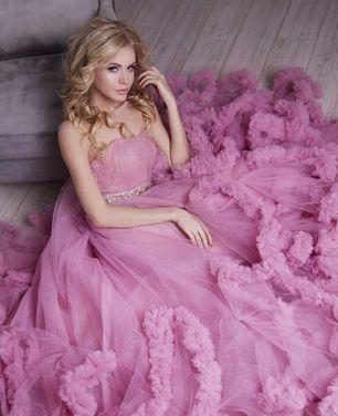 Платья Платье розовое облако  напрокат | Аренда и прокат – Нижний Новгород