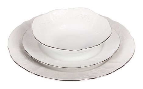 Тарелки  Набор из 3 тарелок «Агат» напрокат | Аренда и прокат – Нижний Новгород