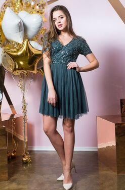 Платья Платье мини с пайетками Maya напрокат | Аренда и прокат – Санкт-Петербург