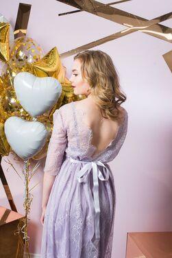 Платья Нежно-фиолетовое платье  напрокат | Аренда и прокат – Санкт-Петербург