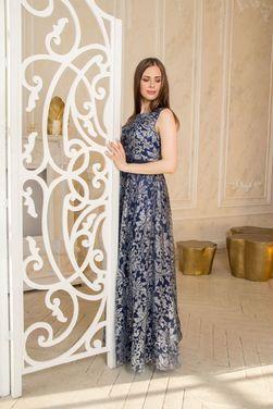 Платья Вечернее синее блестящее платье напрокат | Аренда и прокат – Санкт-Петербург
