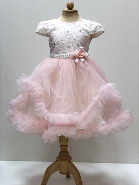 Платья и одежда для девочек Платье розовое танцевальное напрокат | Аренда и прокат – Пермь