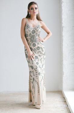 Платья Jovani Silver Queen Evening Dress напрокат | Аренда и прокат – Москва