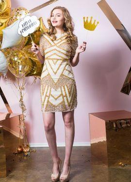 Платья Декорированное облегающее платье  напрокат | Аренда и прокат – Санкт-Петербург