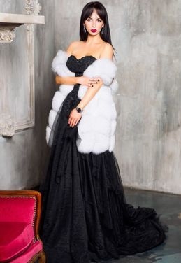 Верхняя одежда Жилетка меховая напрокат | Аренда и прокат – Москва