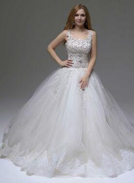 Платья  Пышное свадебное платье 209 напрокат   Аренда и прокат – Москва