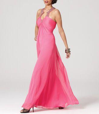 Платья Aidan Mattox , Pink Padded Bust  напрокат | Аренда и прокат – Москва