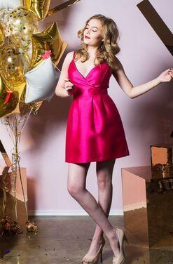 Платья Ярко-розовое платье  напрокат | Аренда и прокат – Санкт-Петербург