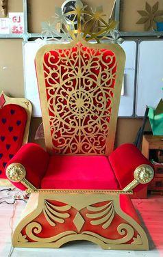 Кресла Трон Деда Мороза напрокат | Аренда и прокат – Москва
