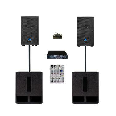 Звук Комплект звука 2 кВт напрокат | Аренда и прокат – Санкт-Петербург