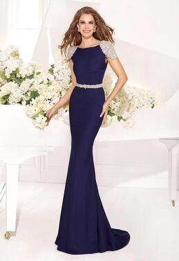 Платья Cream Tarik Ediz 92057 Evening Dres напрокат | Аренда и прокат – Краснодар