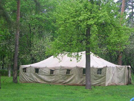 Палатки/тенты Армейская палатка УСБ-56 напрокат | Аренда и прокат – Москва