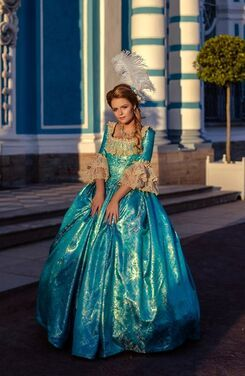 Платья Золотая бирюза напрокат | Аренда и прокат – Санкт-Петербург