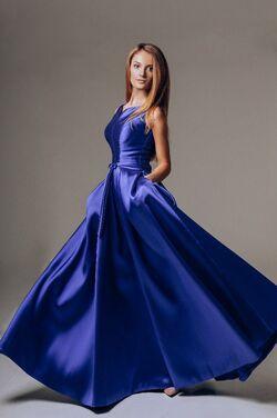 Платья Платье Грэмми синее напрокат | Аренда и прокат – Нижний Новгород