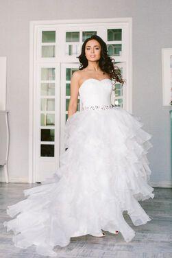 Платья Воздушное свадебное платье напрокат   Аренда и прокат – Зеленоград