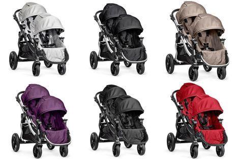 Коляски Baby Jogger City Select Double  напрокат | Аренда и прокат – Москва