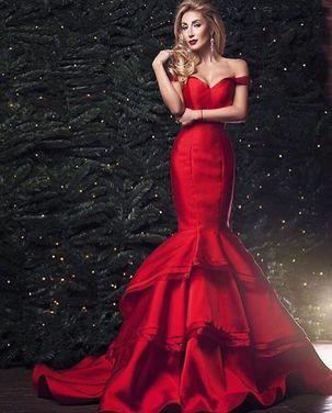 Платья красное платье рыбка напрокат | Аренда и прокат – Москва