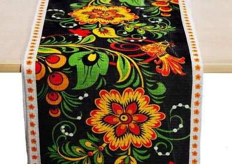 Другой текстиль Раннер «Хохлома» напрокат | Аренда и прокат – Екатеринбург