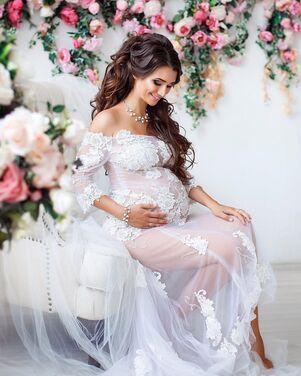 Платья Белое будуарное платье напрокат | Аренда и прокат – Санкт-Петербург
