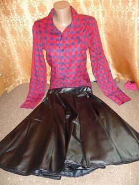 Другое Костюм юбка кожаная рубашка напрокат | Аренда и прокат – Москва