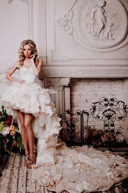 Платья Цветочное платье со шлейфом напрокат | Аренда и прокат – Санкт-Петербург