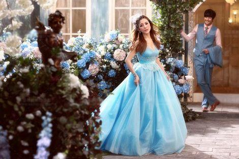 Платья Голубое платье пышное  напрокат | Аренда и прокат – Москва