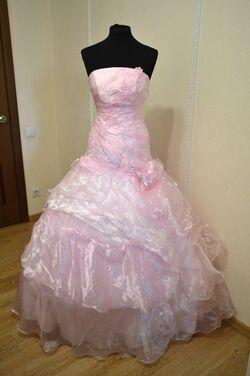 Платья Розовое бальное платье напрокат | Аренда и прокат – Самара