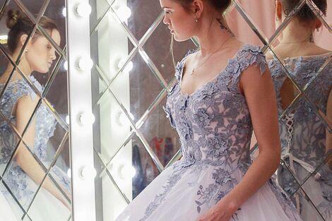 Платья Голубое свадебное платье Vasilisa напрокат | Аренда и прокат – Санкт-Петербург