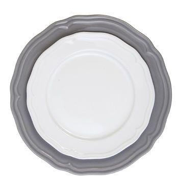 Тарелки  Набор из 2 белых тарелок напрокат   Аренда и прокат – Новосибирск