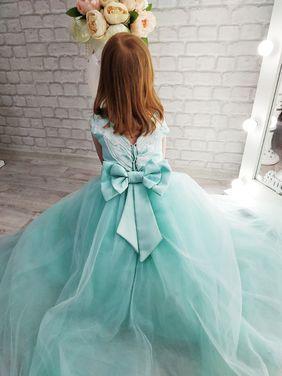 Платья и одежда для девочек Платье для девочки 122-128 см напрокат | Аренда и прокат – Москва