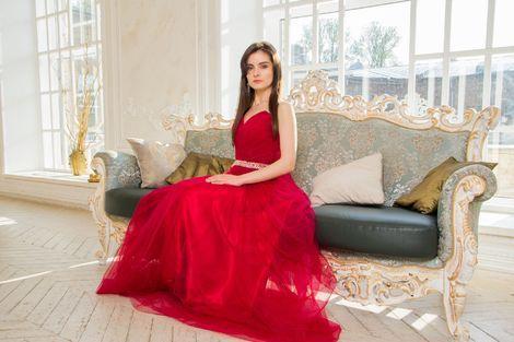 Платья Вечернее шикарное красное платье напрокат | Аренда и прокат – Санкт-Петербург