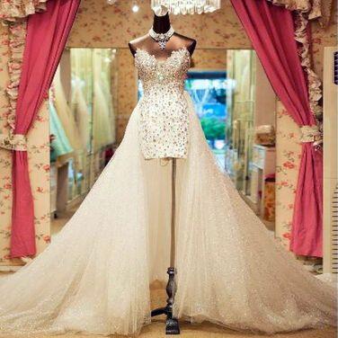 Платья свадебное платье со съемным шлейфом напрокат | Аренда и прокат – Санкт-Петербург