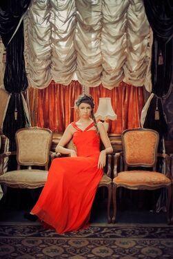 Платья English Red Evening Dress напрокат | Аренда и прокат – Краснодар