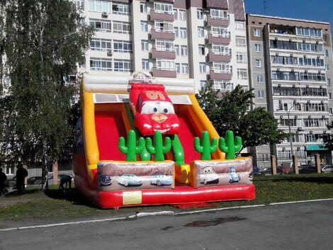 "Детские праздники Батут ""Тачки""  напрокат | Аренда и прокат – Екатеринбург"