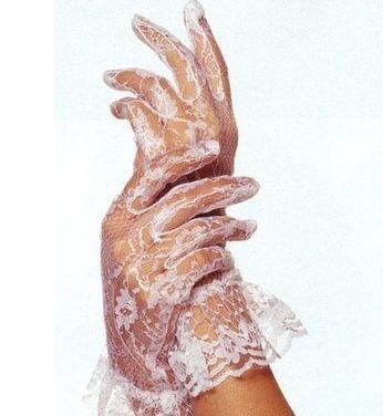 Аксессуары Белые гипюровые перчатки напрокат | Аренда и прокат – Екатеринбург