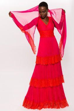 Платья Шелковое яркое платье NISSA напрокат | Аренда и прокат – Москва