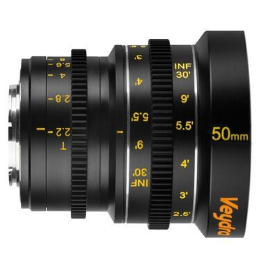 Фотообъективы Объектив MFT Veydra 50mm T2.2 Mini  напрокат | Аренда и прокат – Санкт-Петербург