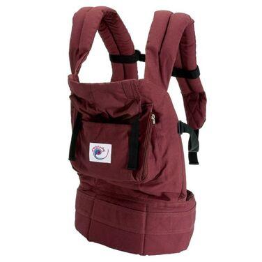 Переноски Эрго-рюкзак Ergo Baby бордовый напрокат | Аренда и прокат – Санкт-Петербург