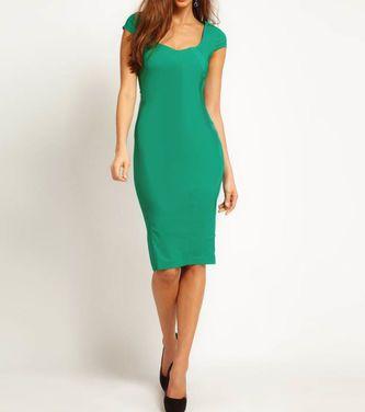 Платья Asos, Green Pencil dress   напрокат | Аренда и прокат – Москва
