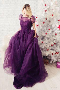 Платья Фиолетовое платье принцессы  напрокат | Аренда и прокат – Пушкино