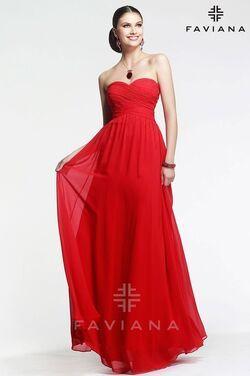 Платья Вечернее платье FAVIANA FA003 напрокат | Аренда и прокат – Москва