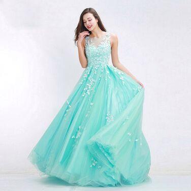 Платья Вечернее платье цвета Тиффани  напрокат | Аренда и прокат – Санкт-Петербург
